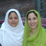 Hasina Bano and Sadaf Mushi